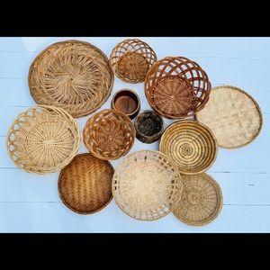 Basket Wall mystery bundle of 6